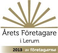 Årets företagare i Lerum 2013